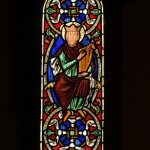 Stained glass window in the apse by Augustus Welby Pugin 1848