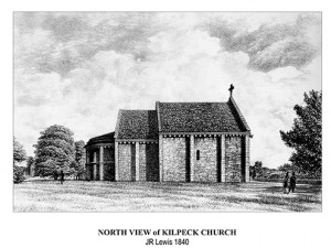 North View Kilpeck Church JRLewis -S