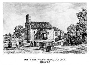 South West Kilpeck Church JRLewis-S