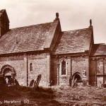 Edwardian postcard of Kilpeck Church
