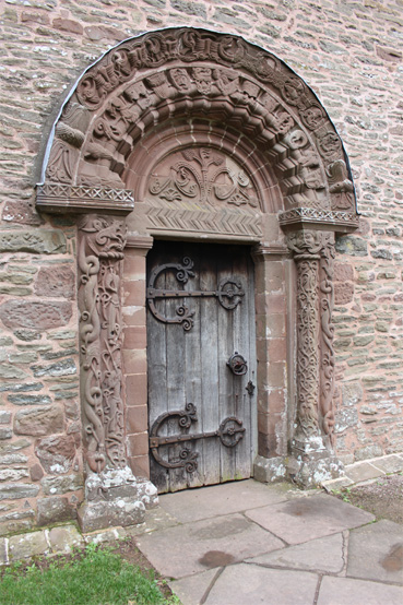Kilpeck Church South Door